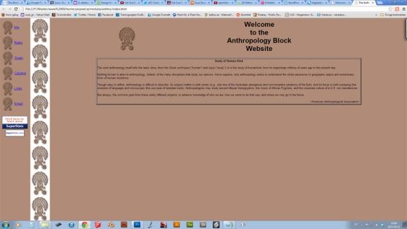 Anthropologi block 1999