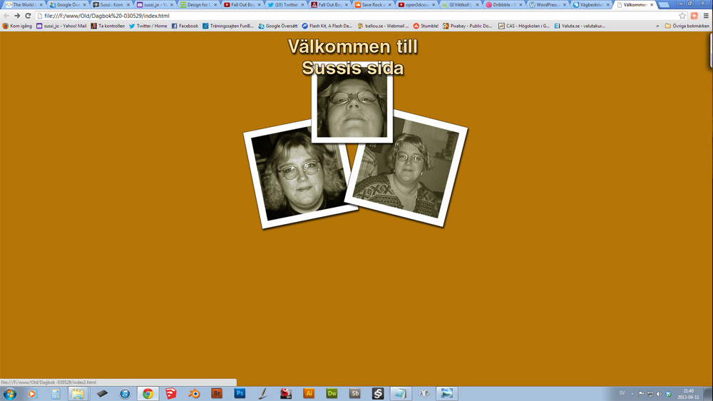 Dagbok 2003 startsida