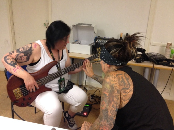 Baslektion med Fieldy