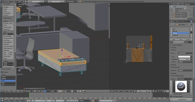 Blender-furniture